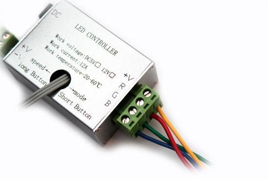 RGB-контроллер для RGB- светодиодной ленты
