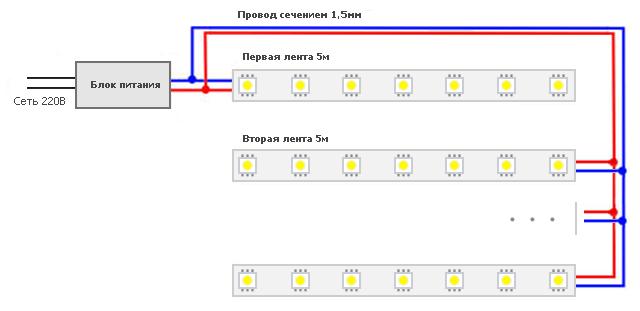 Рис.1 Схема подключения