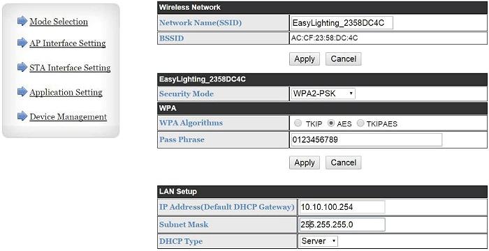 настройка SR-2818WiN через WEB интерфейс