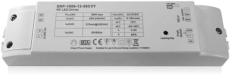 драйвер-контроллер SUNRICHER SRP-1009-12-50W CVT